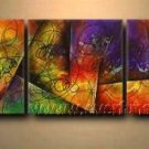 Good ! New Modern Abstract Huge Art Oil Painting on Canvas (+ Frame) XD3-083