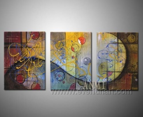 Good ! New Modern Abstract Huge Art Oil Painting on Canvas (+ Frame) XD3-084
