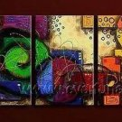 Good ! New Modern Abstract Huge Art Oil Painting on Canvas (+ Frame) XD3-086