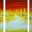 Good ! New Modern Abstract Huge Art Oil Painting on Canvas (+ Frame) XD3-087