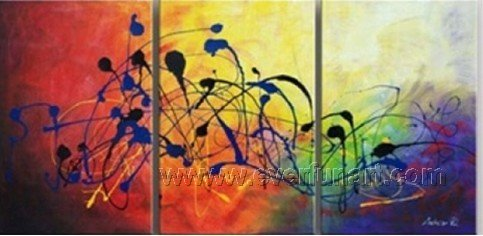 Good ! New Modern Abstract Huge Art Oil Painting on Canvas (+ Frame) XD3-092