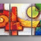 Good ! New Modern Abstract Huge Art Oil Painting on Canvas (+ Frame) XD3-094