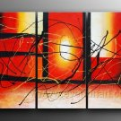 Good ! New Modern Abstract Huge Art Oil Painting on Canvas (+ Frame) XD3-117