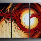Good ! New Modern Abstract Huge Art Oil Painting on Canvas (+ Frame) XD3-120