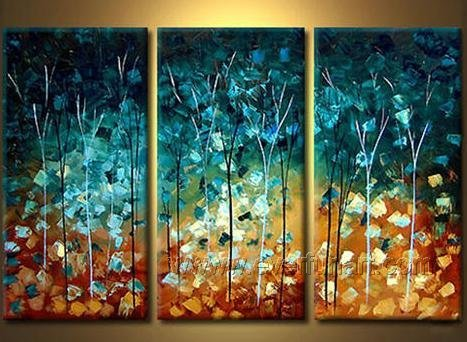 Good ! New Modern Abstract Huge Art Oil Painting on Canvas (+ Frame) XD3-166