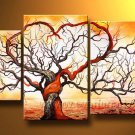 Never Be Apart ! Framed! Modern Wall Decor Art Landscape Huge Oil Painting On Canvas LA3-082