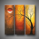 I Want to Touch You ! Hot! Nice Landscape Oil Painting (+ Frame) LA3-065
