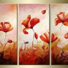 Gorgeous Oil Floral Painting on Canvas Very Pretty Flowers (+Frame) FL3-001