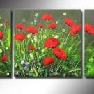 Gorgeous Oil Floral Painting on Canvas Very Pretty Flowers (+Frame) FL3-046