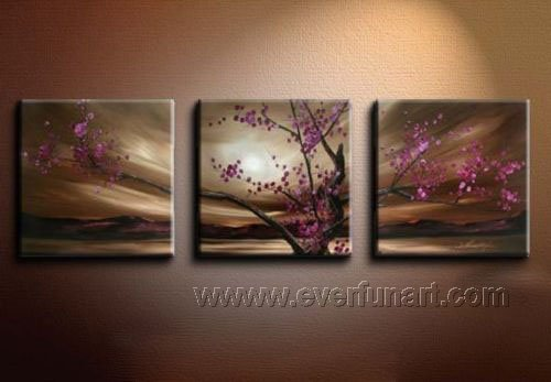 Gorgeous Oil Floral Painting on Canvas Very Pretty Flowers (+Frame) FL3-051