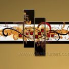 Handmade Abstract Oil Painting Modern Art Wall Decor Canvas Painting (+Frame)  XD4-024