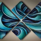 Handmade Abstract Oil Painting Modern Art Wall Decor Canvas Painting (+Frame) XD4-052