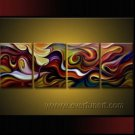 Handmade Abstract Oil Painting Modern Art Wall Decor Canvas Painting (+Frame)  XD4-057