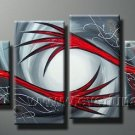 Handmade Abstract Oil Painting Modern Art Wall Decor Canvas Painting (+Frame) XD4-118