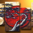 Handpainted Landscape Oil Impressionist Art Canvas Painting (+Frame) LA4-005