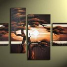 Handpainted Landscape Oil Impressionist Art Canvas Painting (+Frame) LA4-025