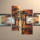 Handpainted Landscape Oil Impressionist Art Canvas Painting (+Frame) LA4-027