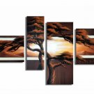 Handpainted Landscape Oil Impressionist Art Canvas Painting (+Frame) LA4-028