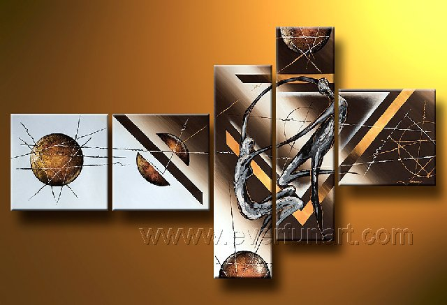 Huge Mordern Abstract Wall Decor Art Canvas Oil Painting (+ Frame) XD5-048