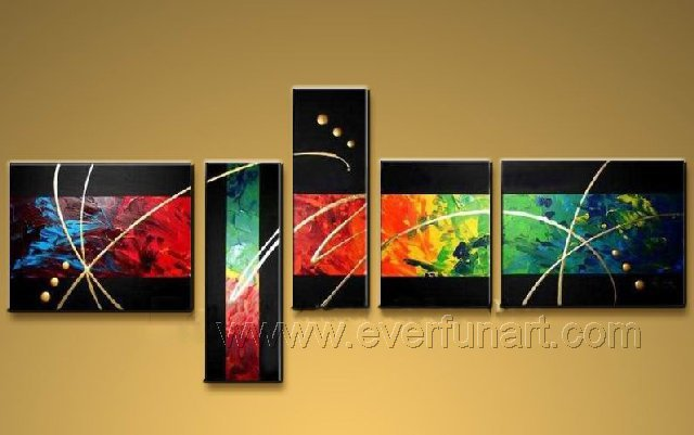 Huge Mordern Abstract Wall Decor Art Canvas Oil Painting (+ Frame) XD5-060
