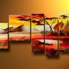 Summer Days! Handpainted Landscape Oil Impressionist Art Canvas Painting (+Frame) LA5-012