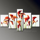 Gorgeous Oil Floral Painting on Canvas Very Pretty Flowers (+Frame) FL5-003