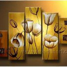Gorgeous Oil Floral Painting on Canvas Very Pretty Flowers (+Frame) FL5-039