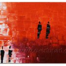 Huge Mordern Abstract Figurative Wall Decor Art Canvas Oil Painting (+ Frame) FI-022