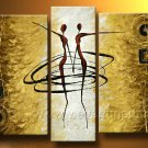 Huge Mordern Abstract Figurative Wall Decor Art Canvas Oil Painting (+ Frame) FI-054