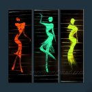 Huge Mordern Abstract Figurative Wall Decor Art Canvas Oil Painting (+ Frame) FI-061
