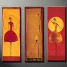 Huge Mordern Abstract Figurative Wall Decor Art Canvas Oil Painting (+ Frame) FI-066