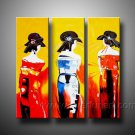 Huge Mordern Abstract Figurative Wall Decor Art Canvas Oil Painting (+ Frame) FI-068