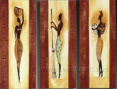 Huge Mordern Abstract Figurative Wall Decor Art Canvas Oil Painting (+ Frame) FI-074