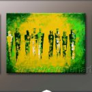 Huge Mordern Abstract Figurative Wall Decor Art Canvas Oil Painting (+ Frame) FI-086
