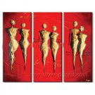 Huge Mordern Abstract Figurative Wall Decor Art Canvas Oil Painting (+ Frame) FI-087