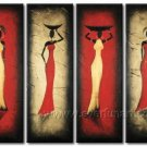 Huge Mordern Abstract Figurative Wall Decor Art Canvas Oil Painting (+ Frame) FI-091