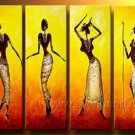 Huge Mordern Abstract Figurative Wall Decor Art Canvas Oil Painting (+ Frame) FI-093