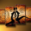 Huge Mordern Abstract Figurative Wall Decor Art Canvas Oil Painting (+ Frame) FI-098