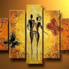 Huge Mordern Abstract Figurative Wall Decor Art Canvas Oil Painting (+ Frame) FI-101