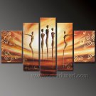 Huge Mordern Abstract Figurative Wall Decor Art Canvas Oil Painting (+ Frame) FI-102