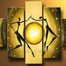Huge Mordern Abstract Figurative Wall Decor Art Canvas Oil Painting (+ Frame) FI-107
