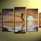 Huge Mordern Abstract Figurative Wall Decor Art Canvas Oil Painting (+ Frame) FI-111