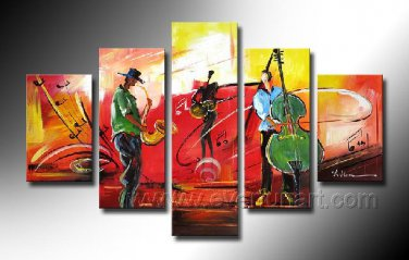 Huge Mordern Abstract Figurative Wall Decor Art Canvas Oil Painting (+ Frame) FI-112
