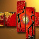 Huge Mordern Abstract Figurative Wall Decor Art Canvas Oil Painting (+ Frame) FI-113