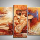 Huge Mordern Abstract Figurative Wall Decor Art Canvas Oil Painting (+ Frame) FI-114