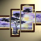 Canvas Oil Painting Framed African Art (+ Frame) AR-011