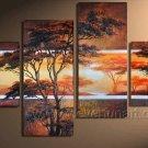 Half Light_Canvas Oil Painting Framed African Art (+ Frame) AR-054