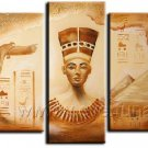 African Portrait Painting_Canvas Oil Painting Framed African Art (+ Frame) AR-079