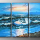 Sea Scenery_Framed Oil on Canvas Seascape Painting SE-049