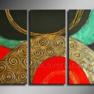 Latest Design Abstract Oil Painting Canvas Art Wall Pictures (+Framed) XD3-213